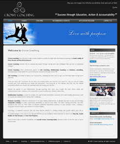 Crowe Coaching Website Redesign, Business Automation Gold Coast, Ecommerce Web Design