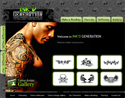 Ink'd Generation Australia, Web Applications Gold Coast, Letter Head Design, Complimentary Slips